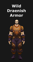 Wild Draenish Armor Set