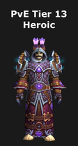 Mage PvE Tier 13 Heroic Set