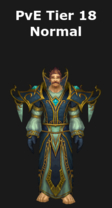 Mage PvE Tier 18 Normal Set