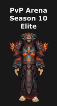 Mage PvP Arena Season 10 Elite Set