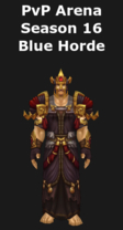 Mage PvP Arena Season 16 Horde Set