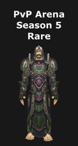 Mage PvP Arena Season 5 Rare Set