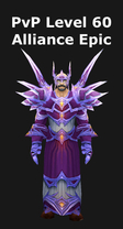 Mage PvP Level 60 Alliance Epic Set