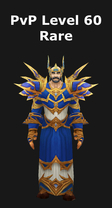 Mage PvP Level 60 Alliance Rare Set