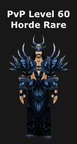 Mage PvP Level 60 Horde Rare Set