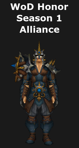 Transmogrification wod honor mail sets wod 6 2 world of warcraft - When is for honor season 6 ...