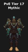Monk PvE Tier 17 Mythic Set