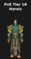 Monk PvE Tier 18 Heroic Set