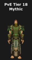 Monk PvE Tier 18 Mythic Set