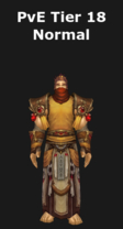 Monk PvE Tier 18 Normal Set