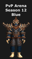 Monk PvP Arena Season 12 Blue Set