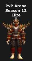 Monk PvP Arena Season 12 Elite Set