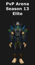 Monk PvP Arena Season 13 Elite Set
