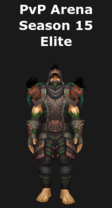 Monk PvP Arena Season 15 Elite Set