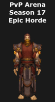 Monk PvP Arena Season 17 Horde Set