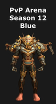Paladin PvP Arena Season 12 Blue Set