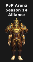 Paladin PvP Arena Season 14 Alliance Set