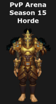 Paladin PvP Arena Season 15 Horde Set