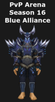 Paladin PvP Arena Season 16 Blue Alliance Set