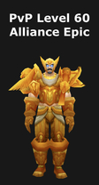 Paladin PvP Level 60 Alliance Epic Set