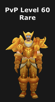 Paladin PvP Level 60 Alliance Rare Set