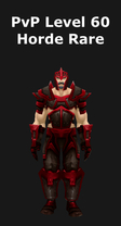 Paladin PvP Level 60 Horde Rare Set