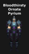 Bloodthirsty Ornate Pyrium Armor