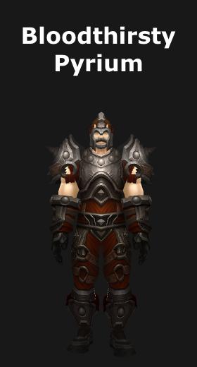 Transmogrification Blacksmithing Plate Armor Sets (WoD 6.2) - World ...