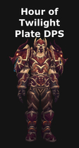 Hour of Twilight Plate DPS Set