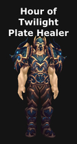 Hour of Twilight Plate Healer Set