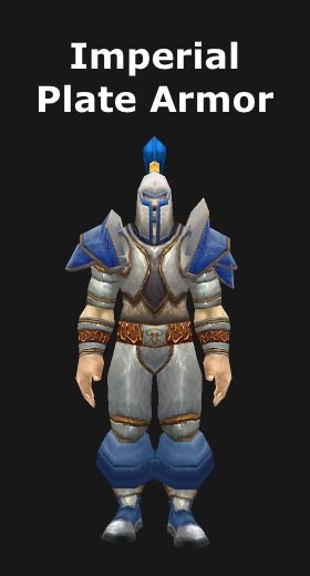 Imperial Plate Armor Set & Transmogrification Blacksmithing Plate Armor Sets (WoD 6.2) - World ...