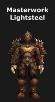 Masterwork Lightsteel Armor