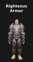 Plate Righteous Armor Set