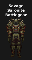 Savage Saronite Battlegear
