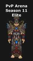 Priest PvP Arena Season 11 Elite Set