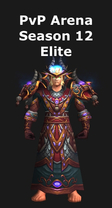 Priest PvP Arena Season 12 Elite Set