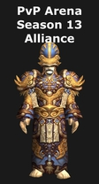 Priest PvP Arena Season 13 Alliance Set