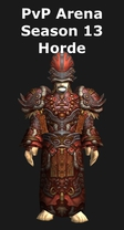 Priest PvP Arena Season 13 Horde Set
