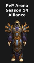 Priest PvP Arena Season 14 Alliance Set