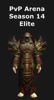Priest PvP Arena Season 14 Elite Set