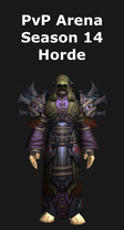 Priest PvP Arena Season 14 Horde Set