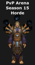 Priest PvP Arena Season 15 Horde Set