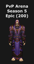 Priest PvP Arena Season 5 Epic Set (200)