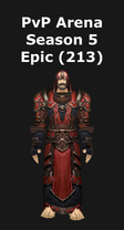 Priest PvP Arena Season 5 Epic Set (213)