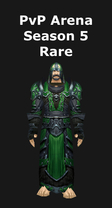 Priest PvP Arena Season 5 Rare Set