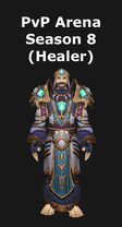 Priest PvP Arena Season 8 Healing Set