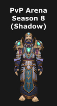 Priest PvP Arena Season 8 Shadow Set