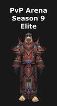 Priest PvP Level Arena Season 9 Elite Set