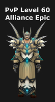 Priest PvP Level 60 Alliance Epic Set