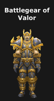 Battlegear of Valor Set
